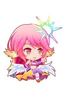 Shiro no game no life i don 39 t know if i should put this on my chibi board x x anime and - Personnage manga fille ...