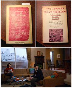 Nat Turner's Slave Rebellion | Herbert Aptheker (thanks to Argosy Books for pulling their copy for me! http://www.argosybooks.com/shop/argosy/index.html) http://www.nypl.org/blog/2012/02/27/mad-men-reading-list #MadMenReading