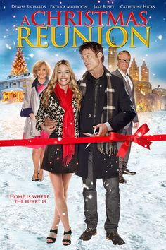 A Christmas Reunion Denise Richards & Patrick Muldoon are the former sweethearts forced to work together when they inherit a share of a bakery Romantic Christmas Movies, Christmas Movies List, Hallmark Christmas Movies, Hallmark Movies, Romantic Movies, Holiday Movies, Christmas Classics, Movies To Watch, Good Movies