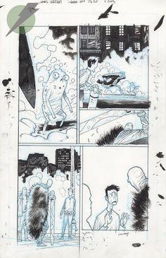 Felix Comic Art :: For Sale Artwork :: RUMBLE by artist James Harren