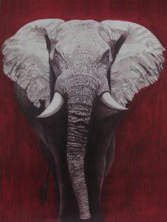 Alabama Crimson Tide painting