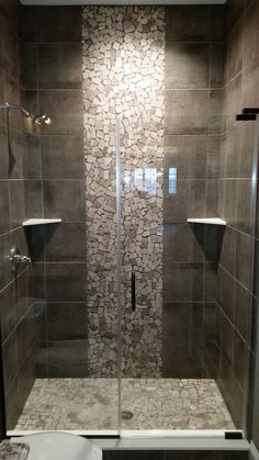 29 Popular Bathroom Shower Tile Design Ideas And Makeover. If you are looking for Bathroom Shower Tile Design Ideas And Makeover, You come to the right place. Here are the Bathroom Shower Tile Design. Master Bathroom Shower, Modern Bathroom, Serene Bathroom, Bathroom Interior, Vanity Bathroom, Bathroom Cabinets, Small Bathrooms, Simple Bathroom, Bathroom Wall