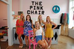The Pink Chair Boutique in Senoia, GA. Really cute stuff!