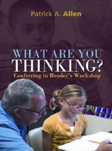 In this DVD, join Patrick Allen, author of Conferring: The Keystone to Reader's Workshop, as he confers with nine different students over the course of two days. Teaching Reading Strategies, Reading Comprehension, Teaching Ideas, Reading Time, Guided Reading, Too Cool For School, School Stuff, Mentor Texts, Readers Workshop