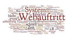 Das richtige System für den eigenen Webauftritt (CMS) - Teil 1