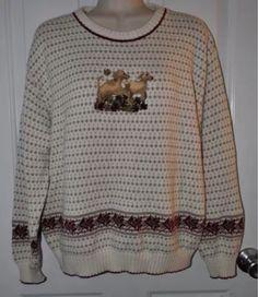 M Cotton Regular Size Crewneck Sweaters for Women Tacky Sweater, Ugly Christmas Sweater, Lab Puppies, Being Ugly, Sweaters For Women, Crew Neck, Graphic Sweatshirt, Pullover, Sweatshirts