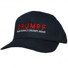 Make Donald Drumpf Again Baseball Cap -- Blue