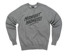 Hektik Streetwear X GREAT | Midnight Madness Sweat | warm & cosy | heather grey - dark grey print #hektik #hoodie #streetwear #fashion #urban #streetart #great #graffiti #embroidery #menswear #sweatshirt #midnight #madness #menswear #sportswear