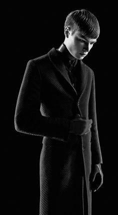 GryuLich Sebastian Kim #coat #MensFashion #black