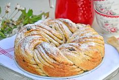 Sunnere kringle Scandinavian, Food And Drink, Bread, Baking, Breakfast, Pastries, Tarts, Recipe, Food Cakes