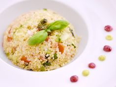 Salade de quinoa Risotto, Main Dishes, Side Dishes, Healthy Snacks, Healthy Recipes, Tasty, Yummy Food, Couscous, Coco