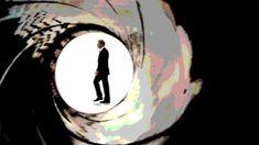 James Bond is shooting past! Animated GIF super craftsmanship