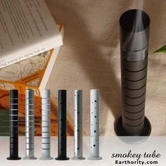 So modern, so elegant. It tackles both incense sticks & cones concurrently.
