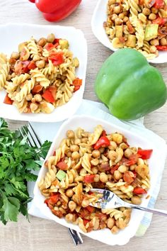 Pasta Salad, Stuffed Peppers, Vegetables, Ethnic Recipes, Food, Crab Pasta Salad, Stuffed Pepper, Vegetable Recipes, Eten