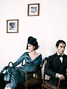 GIO KATHLEEN: Sui He for Vogue China December 2013 by Mario Testino