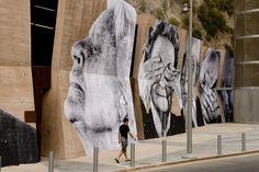 JR, fotografías que observan la ciudad - Una breve historia