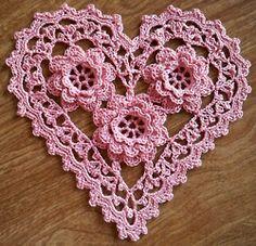 Sweet little crochet heart