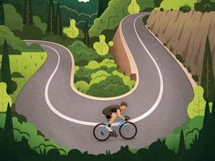 Alpe d'Huez WIP by Andrew Rose