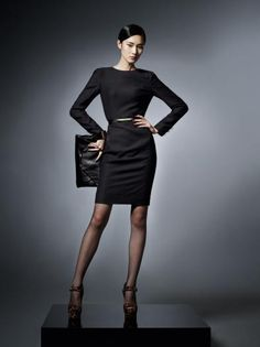 love black and leopard print. i can see myself wearing this to work or on a date