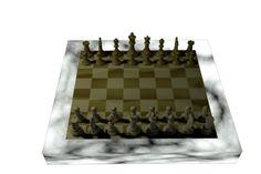 Um dos frames da animacao Xadrez - uma partida diferente.