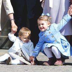 Princess Leonore and Princess Estelle of Sweden