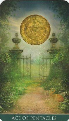 Ace of Pentacles - Thelema Tarot