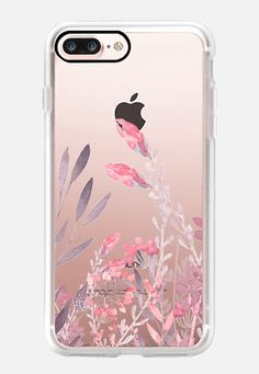 Casetify iPhone 7 Plus Classic Grip Case - Pretty In Pink by Allison Reich #Casetify