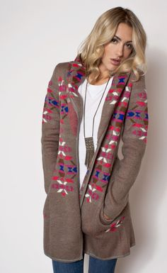This is one of my favorite products on Kembrel: LOVEMARKS - TRIBAL SWEATER. Check it out and get 20%  off for the next 48 hours. #fallforfashion