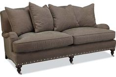 Not this color, but like style...Lee Industries 3277-11 Apartment Sofa