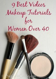 9 Best Video Makeup Tutorials for a Women Over 40 beauty tips from BigGirlsGuide.com