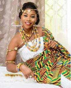 Best African Dresses, African Fashion Ankara, African Print Fashion, African Attire, African Wear, Ghana Traditional Wedding, African Traditional Wedding Dress, African Wedding Dress, Ghana Wedding