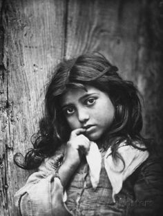 Portrait of a Small Sicilian Girl of Common Class Photographic Print at AllPosters.com