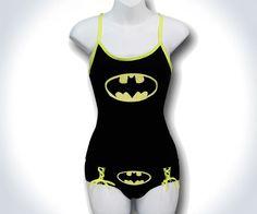485ad466478 Batman Camisole   Panty Set Glow in Dark. Had me at glow in the dark!