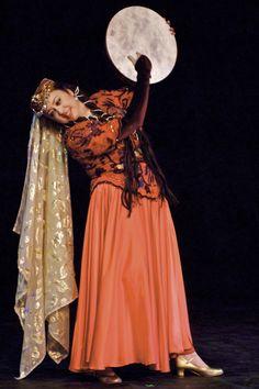 Silk Road Dance Company - Azerbajani Costume