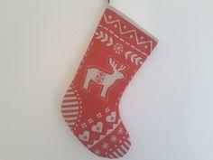 Nikolausstiefel - Nikolausstiefel rot - ein Designerstück von MyMaryandMe bei DaWanda