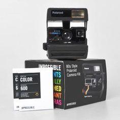 IMPOSSIBLE - 2489 - Véritable Appareil Photo Instantané Polaroid Spirit 600 CL révisé et garanti + 2 Films - Achat / Vente app. photo argentique - Cdiscount