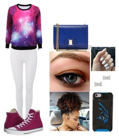 Untitled #33 by cannonsamiya on Polyvore featuring polyvore, fashion, style, 7 For All Mankind, Converse, Salvatore Ferragamo, Marc by Marc Jacobs, women's clothing, women's fashion, women, female, woman, misses and juniors