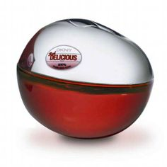 DKNY RED DELICIOUS MEN DKNY Red Delicious is a dark and spicy impression from cognac, rum and saffron flower which combines with sparkling citrus to keep the sexy energy going into the night.