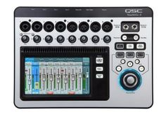 QSC TouchMix-8 Compact Digital Mixer: With a color touchscreen, this compact 12-channel digital mixer delivers big-console features -- built-in DSP FX, remote iPad control via WiFi and more!