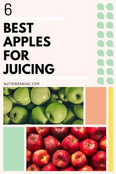 So, you've heard about apple juice benefits, and you want to make homemade apple juice. But what are the best apples for juicing? Check out our top 6 picks so that you can get the most out of your apple juice recipe. Healthy Snacks To Make, Healthy Eating Recipes, Healthy Smoothies, Healthy Drinks, Whole Food Recipes, Juice Recipes, Vegetable Smoothies, Blender Recipes, Jelly Recipes