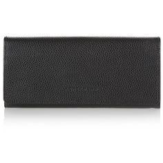 Longchamp Veau Foulonné Fold-Over Wallet $215