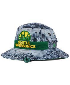 New Era Seattle SuperSonics Skyline Bucket Hat
