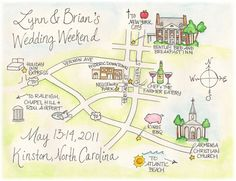 what - this is cool! digital wedding map
