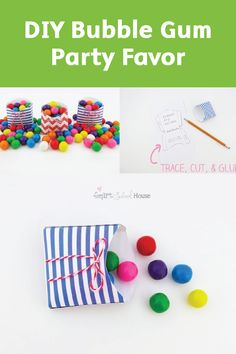 After checking out these DIY Bubble Gum Party Favors, we think you'll agree that the simplest birthday ideas are sometimes the most adorable.