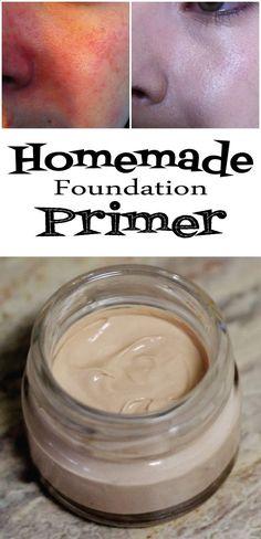 DIY Makeup Recipes 2017 / 2018 : Homemade Foundation Primer  https://diypick.com/beauty/diy-makeup/diy-makeup-recipes-2017-2018-homemade-foundation-primer/