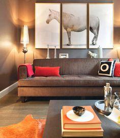 Cheap Home Decor Ideas - Cheap Interior Design - ELLE DECOR - Do it yourself triptych