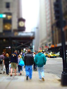Madison Ave. Chicago.