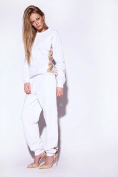 WHITE & GOLD LONG SLEEVE    http://zemelkapirowska.com/shop/