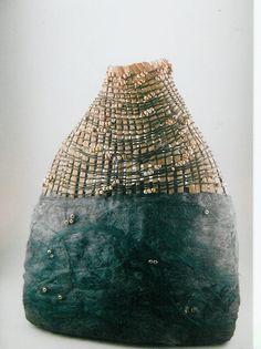More Cloud Series Baskets Gallery of Donna Sakamoto Crispin Flax Weaving, Weaving Art, Basket Weaving, Textile Sculpture, Textile Fiber Art, Environmental Sculpture, Contemporary Baskets, Organic Art, Felt Art