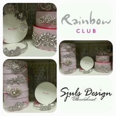 Lots of new tiaras, shoes and veils in store. Day Work, Veils, Rainbow, Store, Design, Head Bands, Rain Bow, Rainbows, Bridal Veils